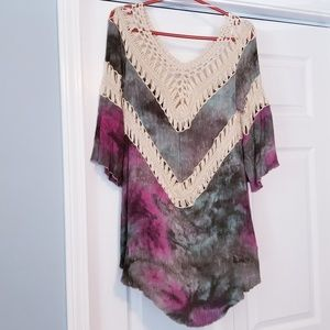 Cute tie-dyed tunic